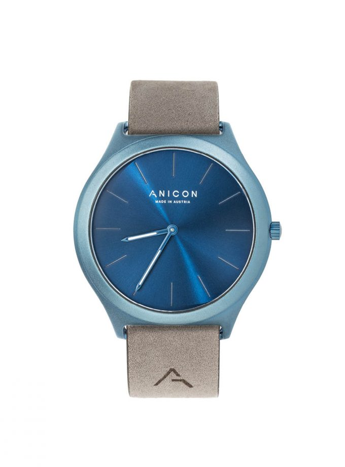 ANICON Idol Reversible Blue grey strap