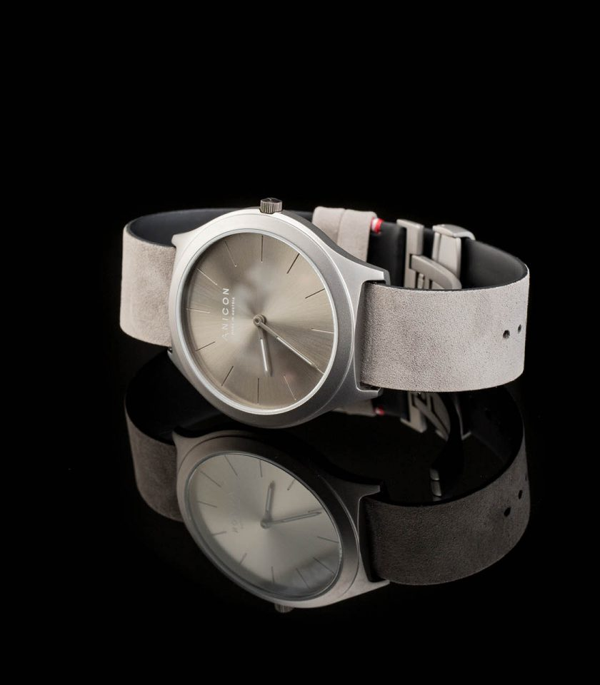 ANICON Idol Reversible Grey Black Background grey strap