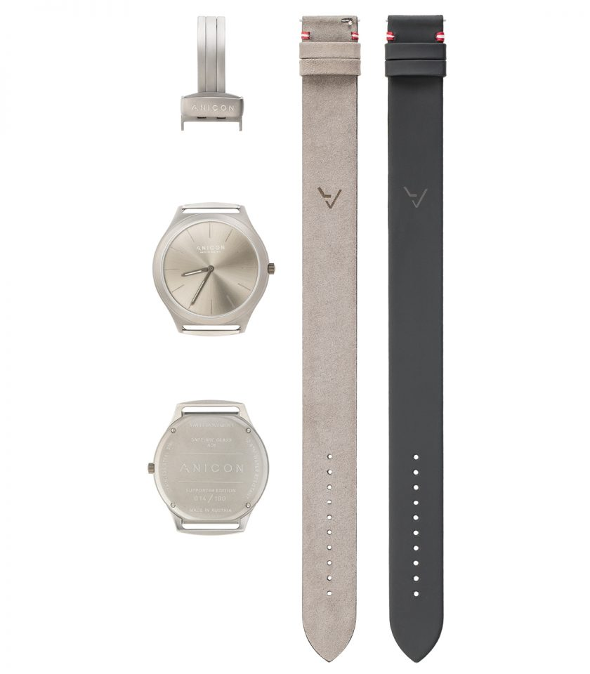 Reversible Grey Components Größe 2